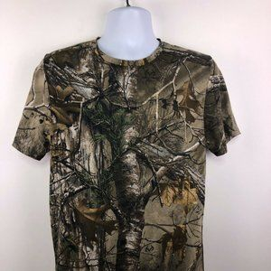 Under Armour Camo SS Shirt Men's Medium